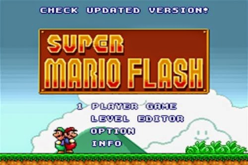 Los juegos flash de Mario Bross