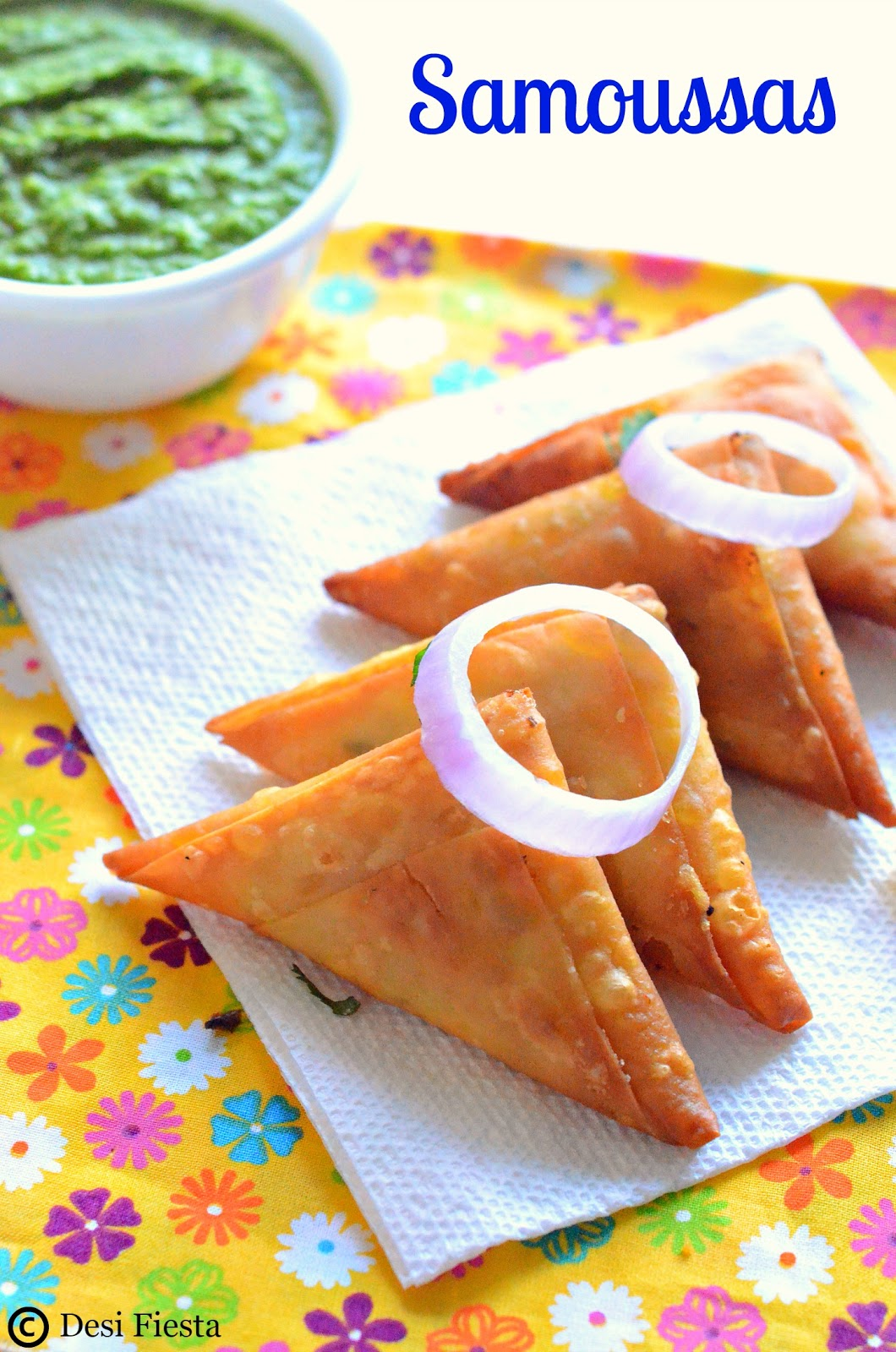 Samosa from reunion island