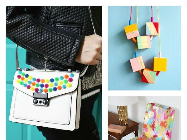 8 Simple DIYs That Pack A Colorful Punch