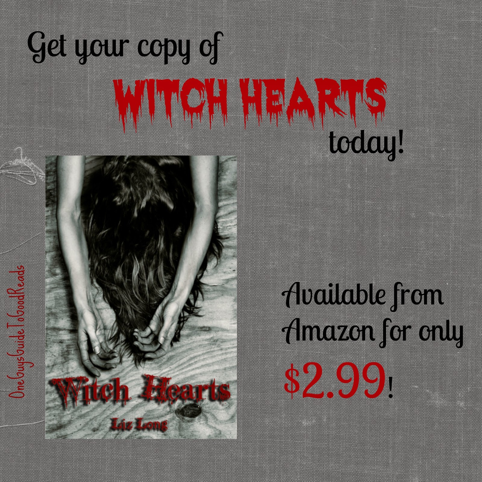 http://www.amazon.com/Witch-Hearts-Liz-Long-ebook/dp/B00CIKKEV0