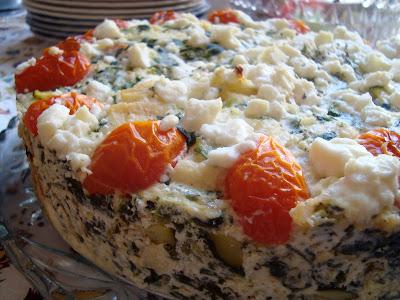 Cooking w Claudine: Savory Breakfast Cake