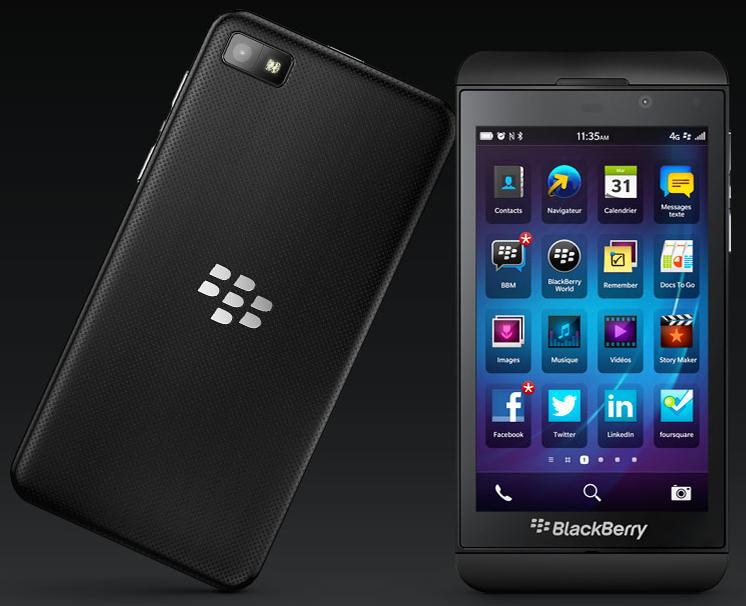 Blackberry z10 fiche technique photos et vid os info for Photo ecran blackberry z10