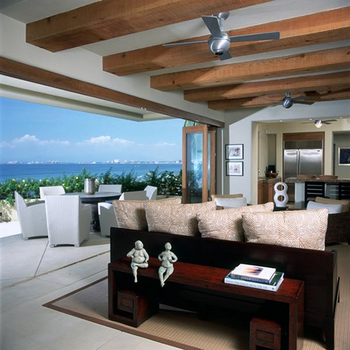 Beautiful Beach Home Interior