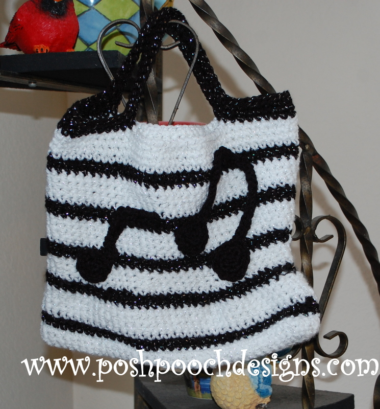 Free Crochet Patterns For Music Notes : Posh Pooch Designs Dog Clothes: A Lesson in Crochet and ...