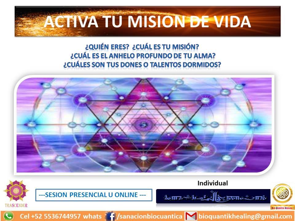 ACTIVA TU MISION DE VIDA