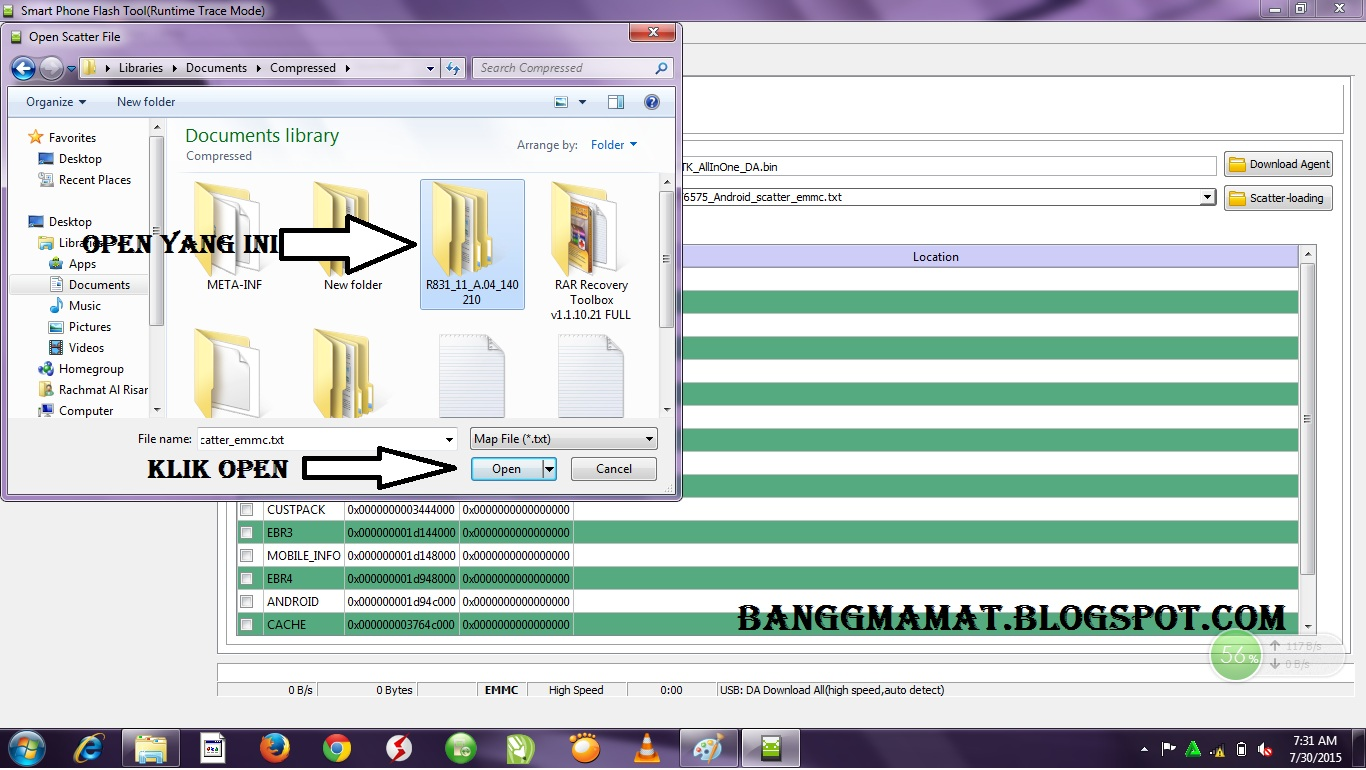 cara flashing hp android mati total tested with oppo r831   andro it