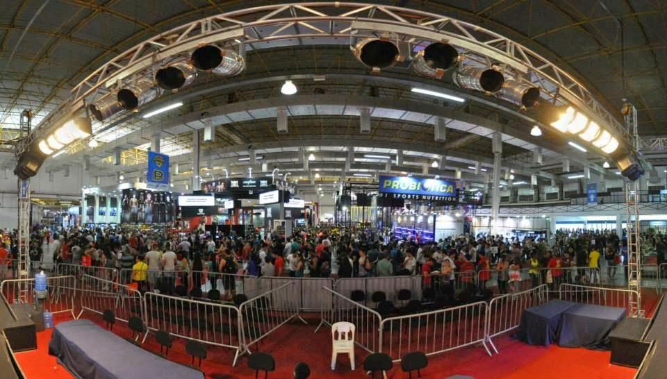 ExpoNutrition 2013 reuniu cerca de 37 mil pessoas. Foto: Divulgação