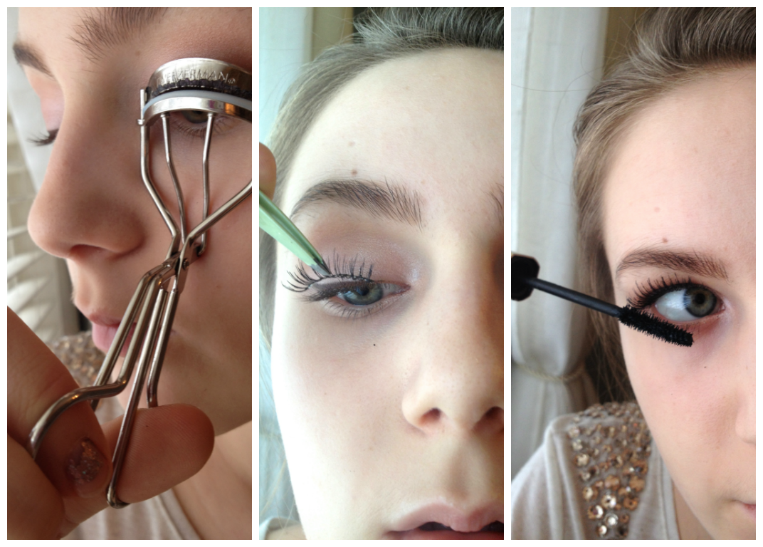 tweezerman eyelash curler before and after. start off by applying eyelash glue to the lashes before curling them, then curl. after waiting tweezerman curler and y