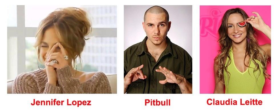 Jennifer Lopez Pitbull Claudia Leitte Illuminati Symbolism