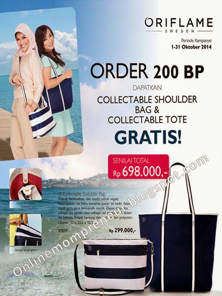 Tote Bag Oriflame Tote Bag Dari Oriflame