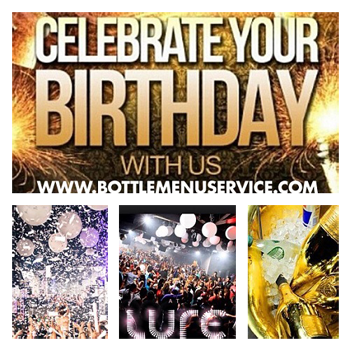 """Lure Nightclub Hollywood Birthdays"""