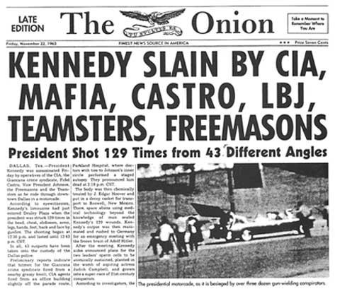 Kennedy Dollar Bill Conspiracy