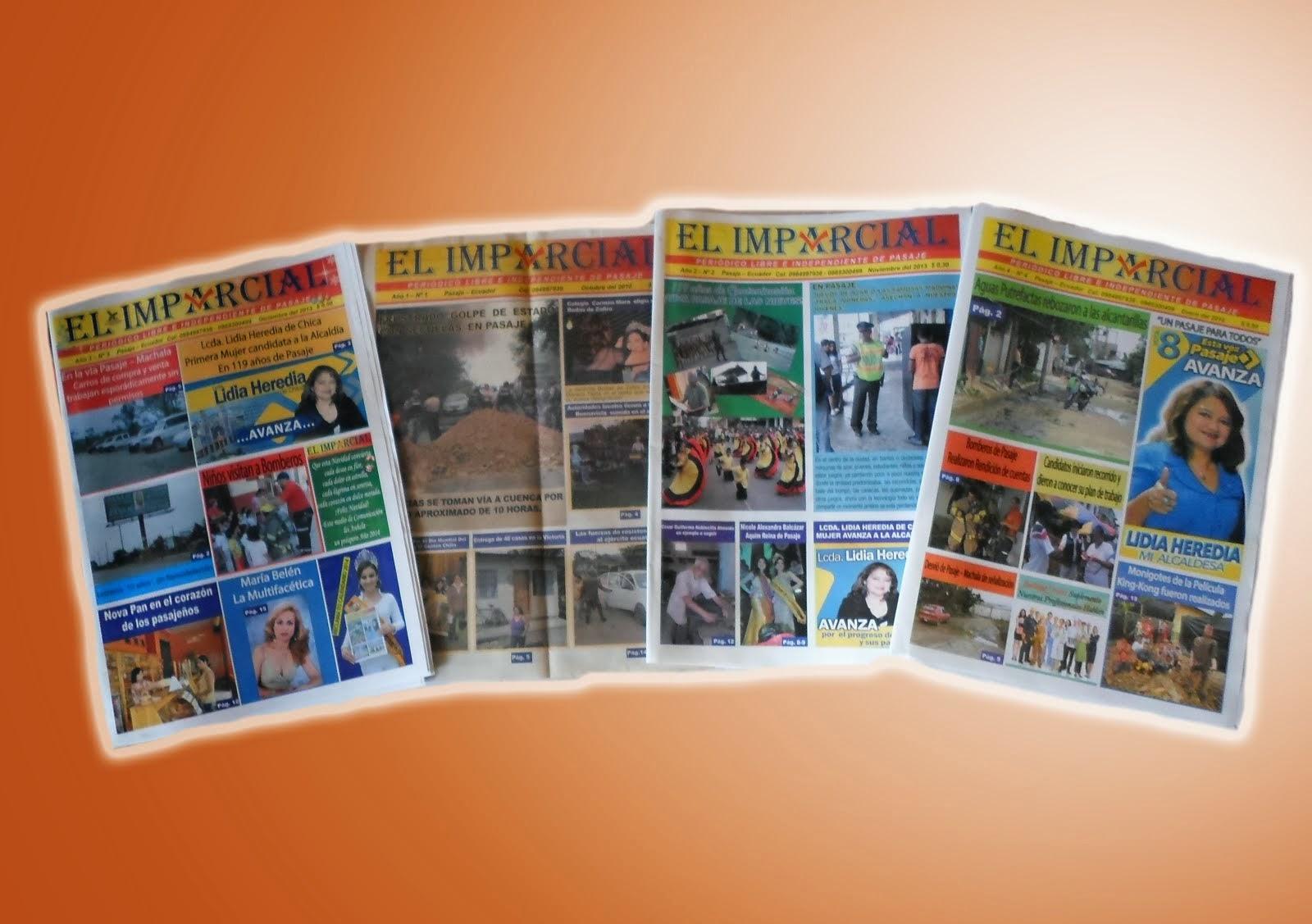 Periódico El Imparcial de Pasaje