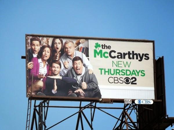 McCarthys sitcom billboard