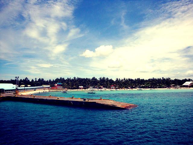 Sta Fe, Bantayan Island Pier