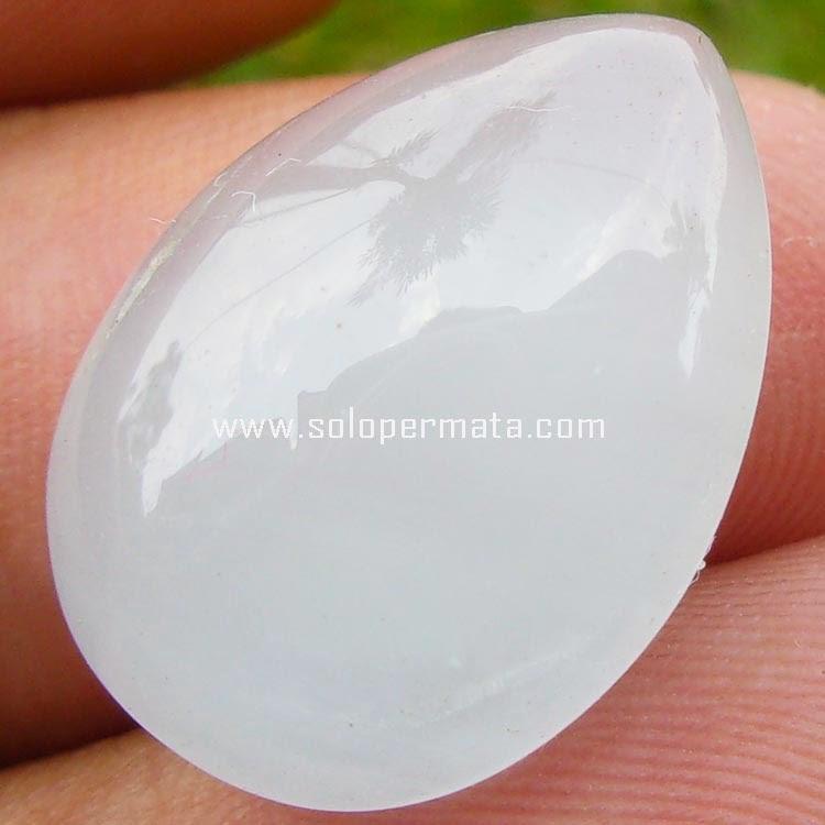 Batu Permata Milky Aquamarine - Sp029