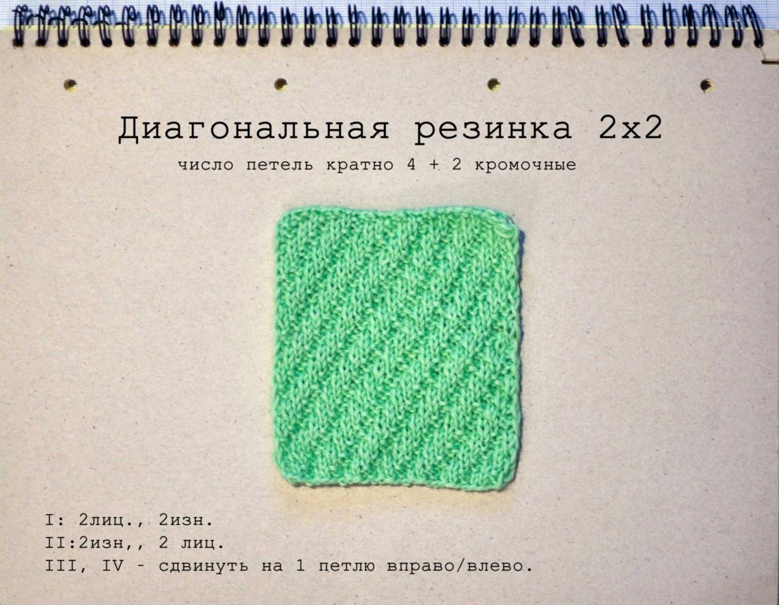 Как связать резинку крючком - Вязание крючком 77