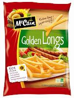 McCain pommes frites, golden longs