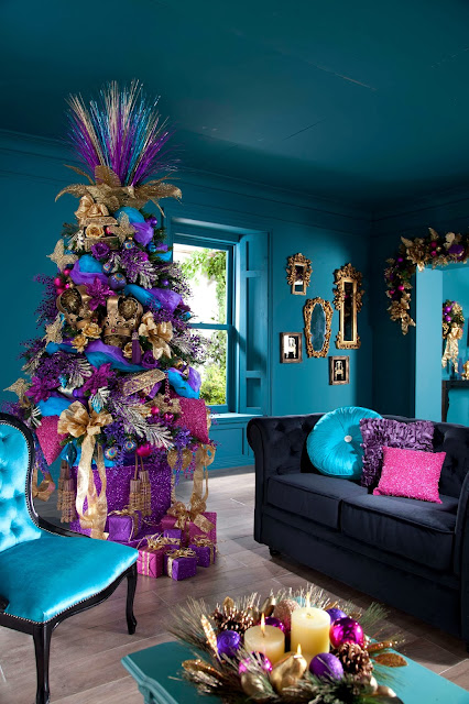 stylish christmas tree