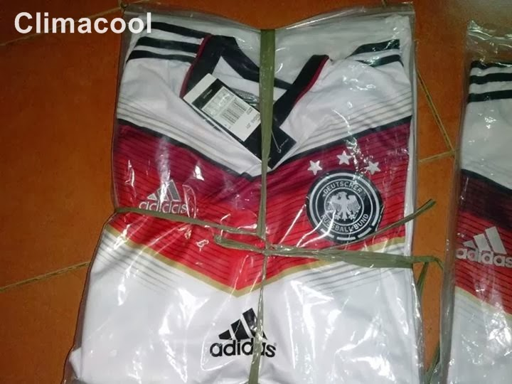 Jersey Bola Grade Ori  Climacool Official World Cup 2014