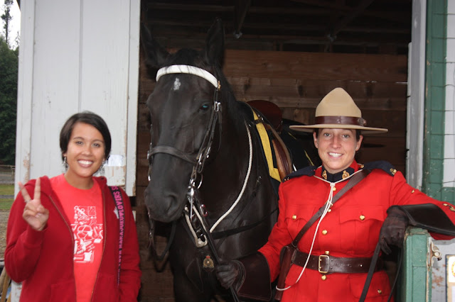 RCMP Musical Ride with Horse and Officer