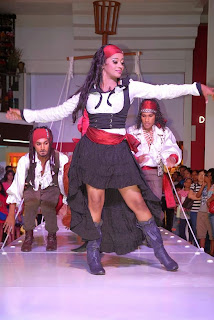 The Embark Pirates Odel Fashion Show 2014 hot