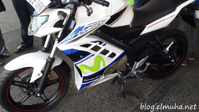 Yamaha New Vixion Advance Gratis Modifikasi Half Fairing