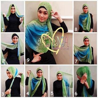 Semoga Tutorial Hijab Modern (Cara Memakai Jilbab Paris) Trend 2016 ...