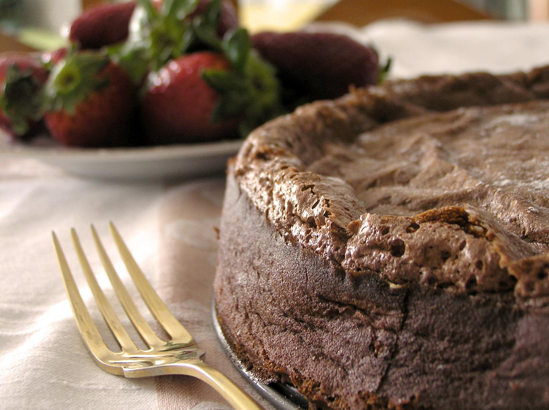 Casa da Vidazinha: Bolo Mousse de Chocolate