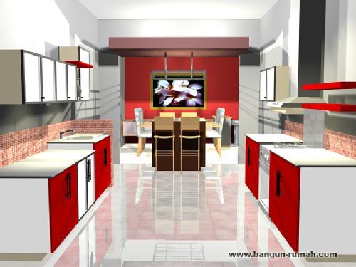 desain interior dapur 1 desain dapur minimalis modern