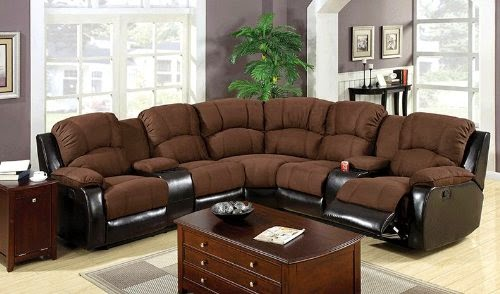 Fabric Recliner Sofa Sets