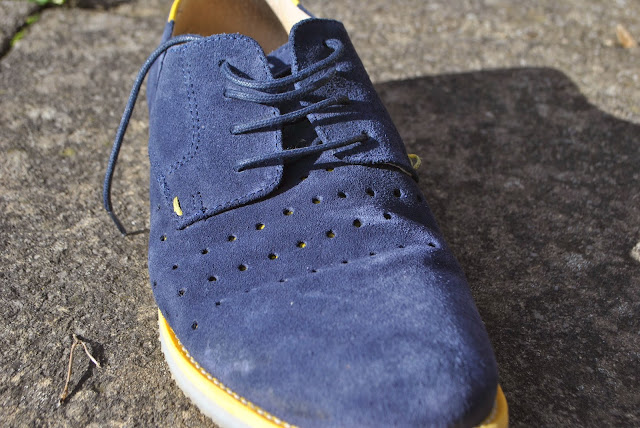 Blue Suede Shoes from Topman