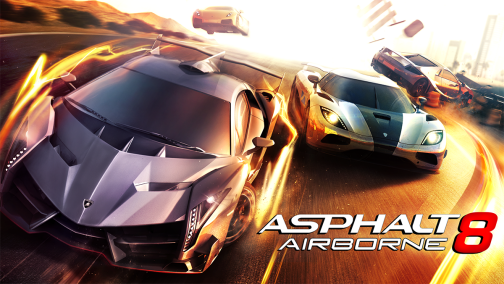 Free Download Asphalt 8 Airborne Mod Apk + Data