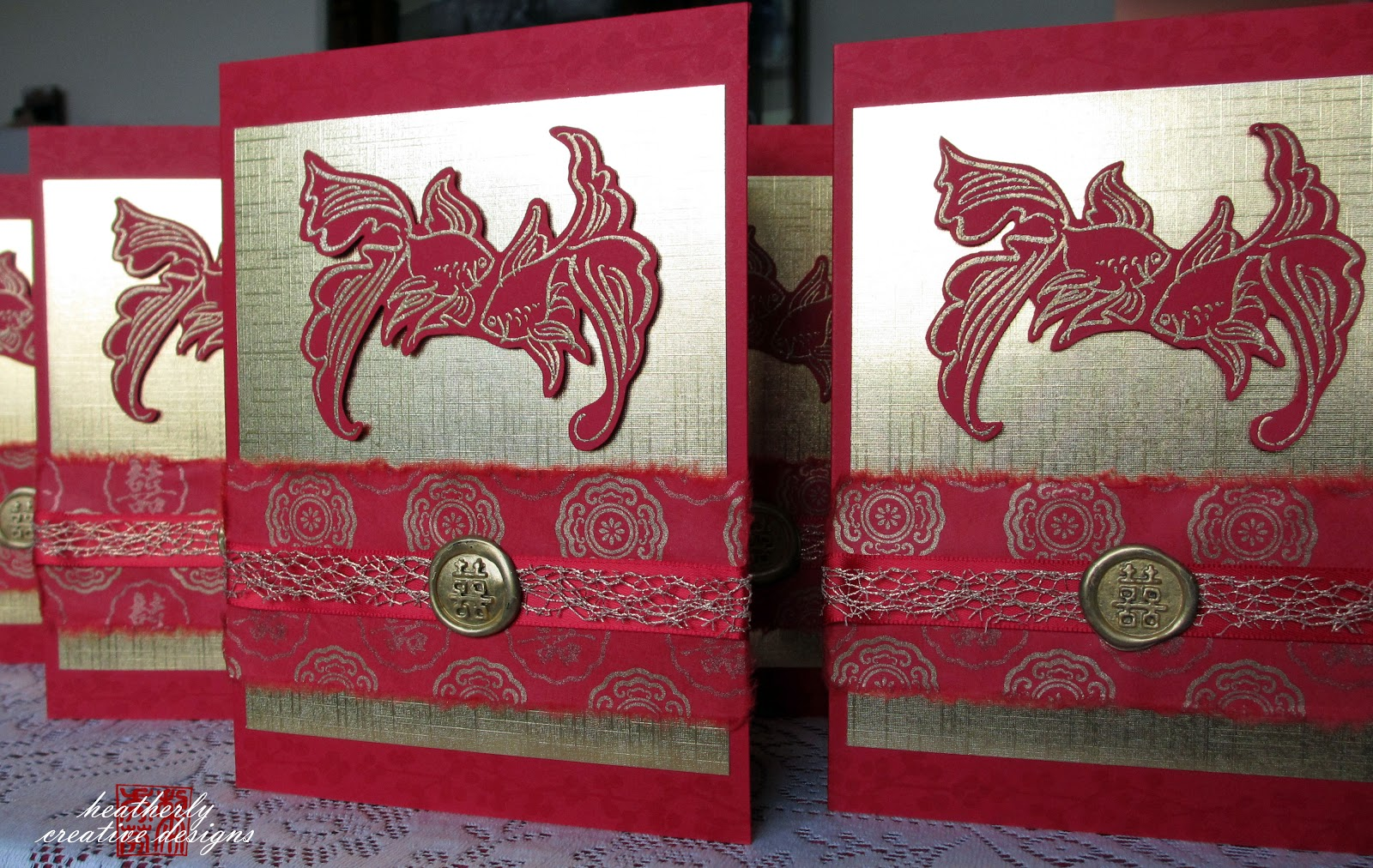 Chinese Wedding Invitations | heatherly creative designs