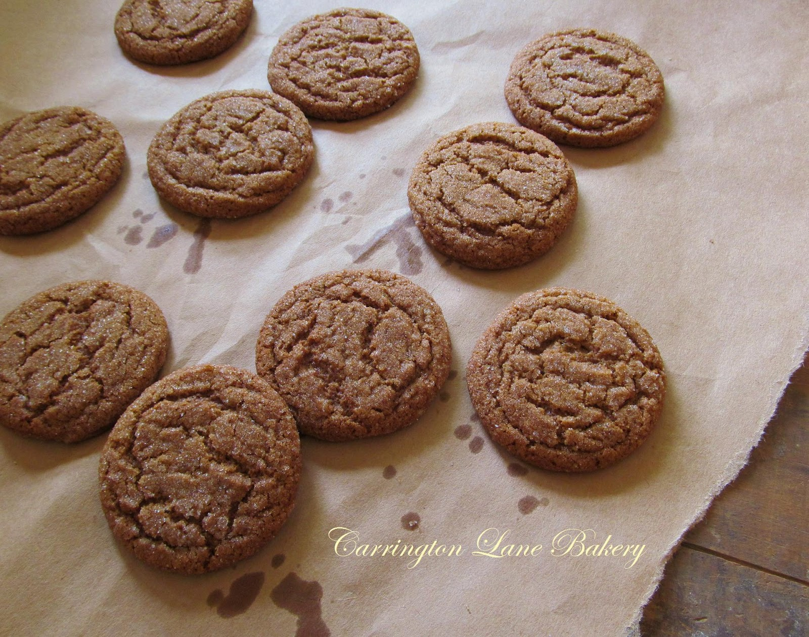 Carrington Lane Bakery: Bacon Fat Gingersnaps
