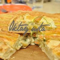 Köz Patlıcanlı Peynirli Börek Tarifi