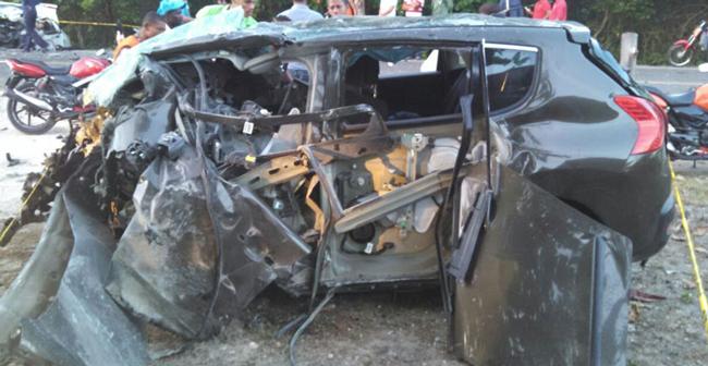 Accidente en Nagua deja un saldo de 6 muertos