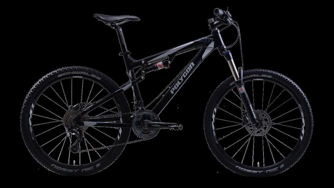 Sepeda Gunung Polygon Full Suspension Seri 2014