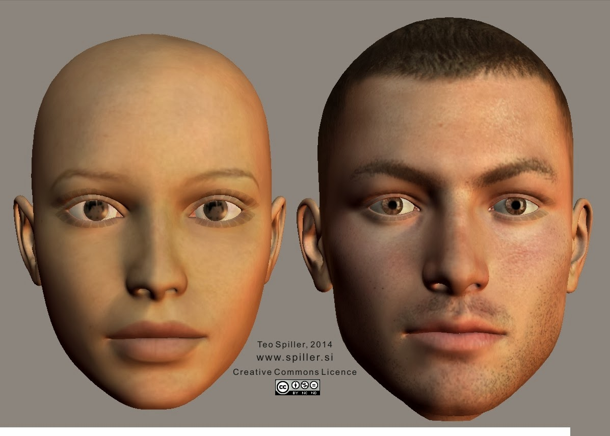 Big face type enface