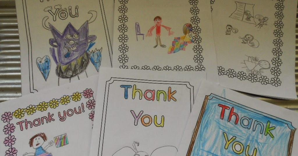 Clever Chimps: Thank you letters to Mrs Arabella from Year 1- Robin ...