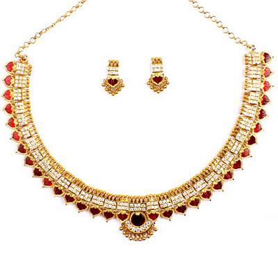 Prince gold jewellery sets