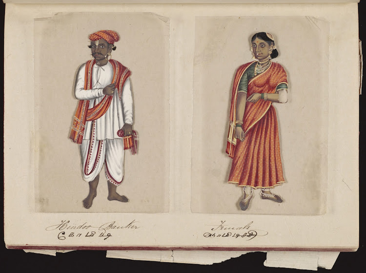 Hindoo Bantier and Female