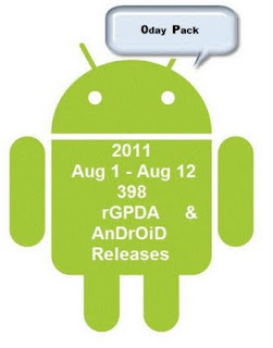 Android 0day Scene Apps Relase 2011(August 1 - August 12)