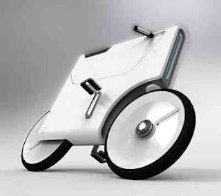 Laptop-Charging Bike Concept|Data 7 Konsep Sepeda Paling Unik Dan Kreatif