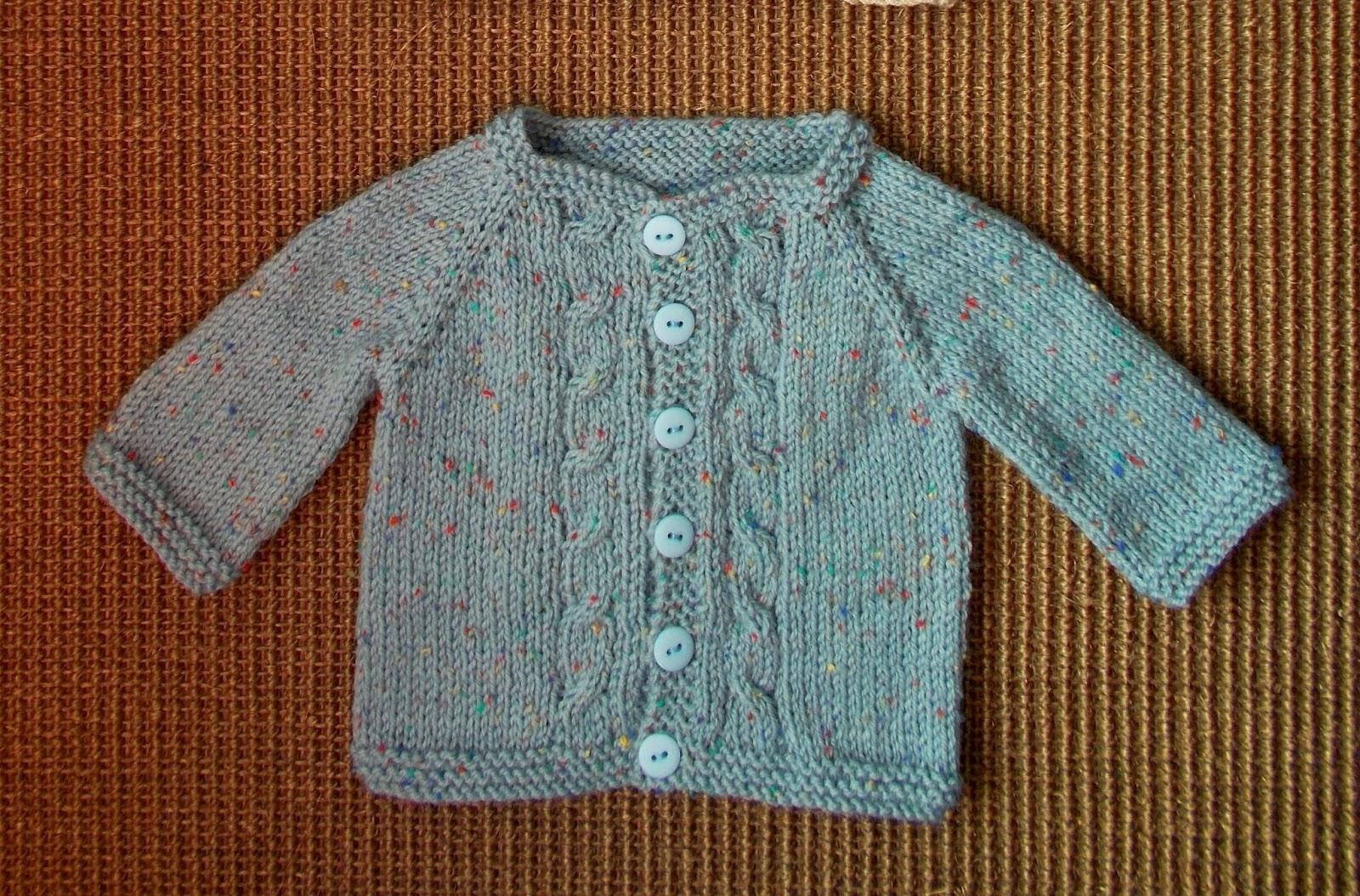 Baby Jacket Knitting Pattern : mariannas lazy daisy days: Max Baby Cardigan Jacket - with eyelet raglan...