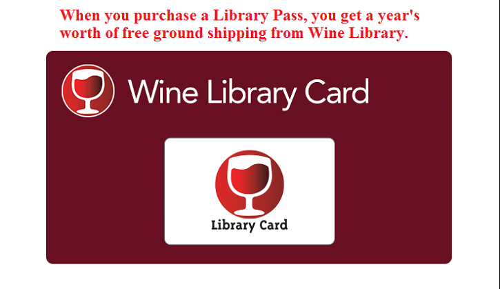 Spend your money on wine, not on shipping - Shop Wine Library