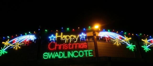 swadlincote december lights christmas display 2012