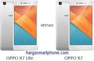 Harga dan Perbedaan OPPO R7 Lite dengan R7