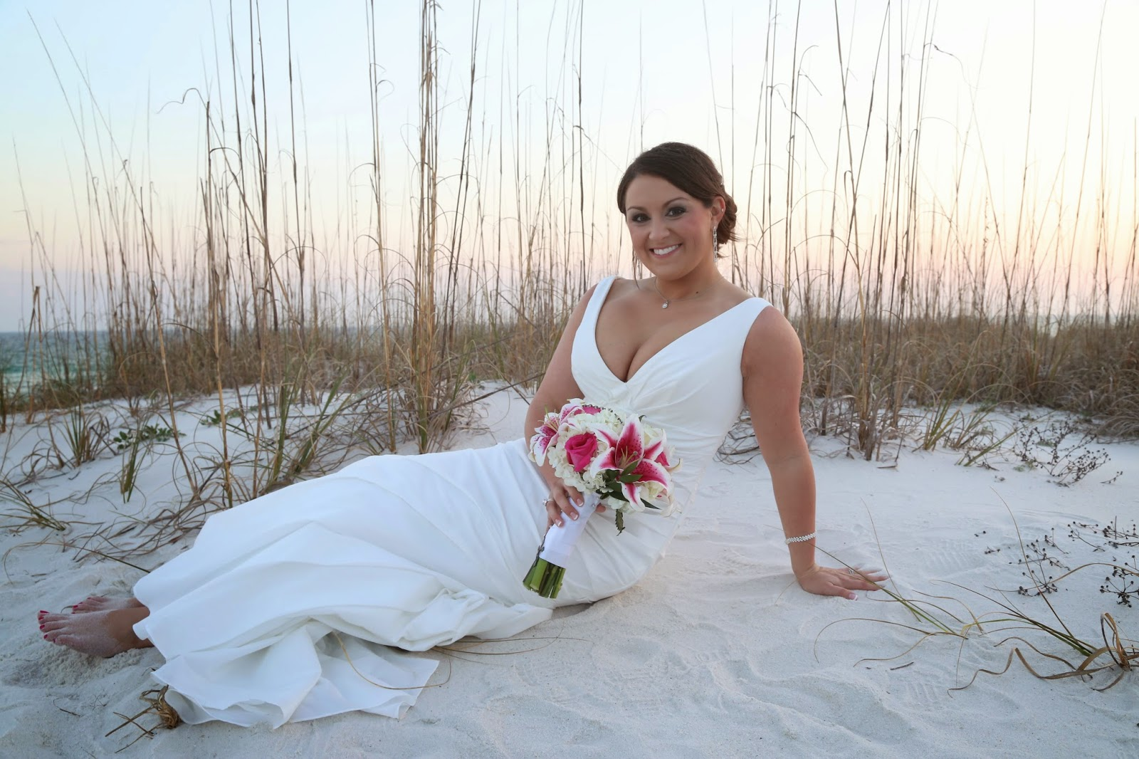 beach wedding bridal bouquets Destin, Florida