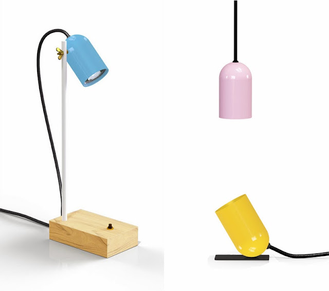 Polka lights by Plant & Moss - table lamps and pendant